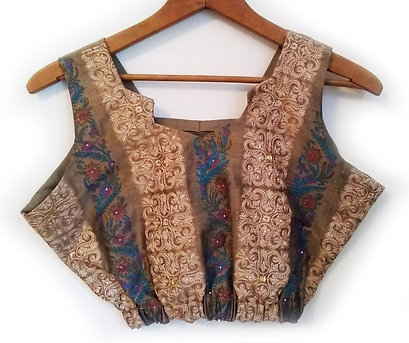Crop Top & Gathered Skirt