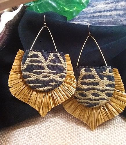 Shay Fringe Drop Earrings