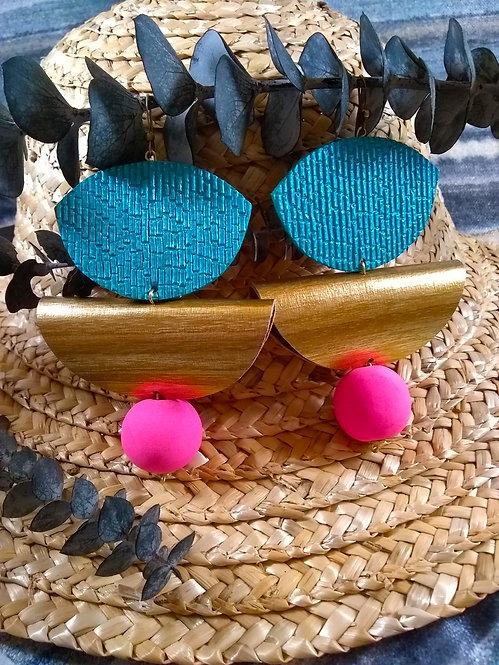 Veronica Mod Pop Earrings