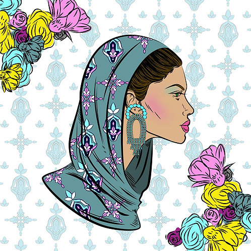 Loose Hijab 0004