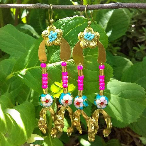 Chloe Floral Earrings
