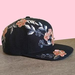 Hat Pink Flowers 6x6.jpg