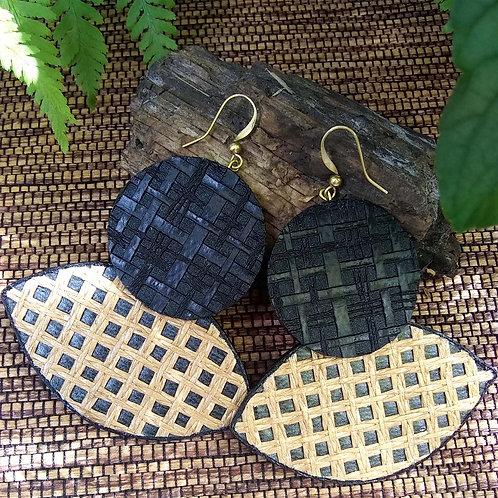 Sid Basket Weave Earrings