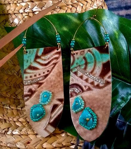 Azrah Beaded Tribe Earrings