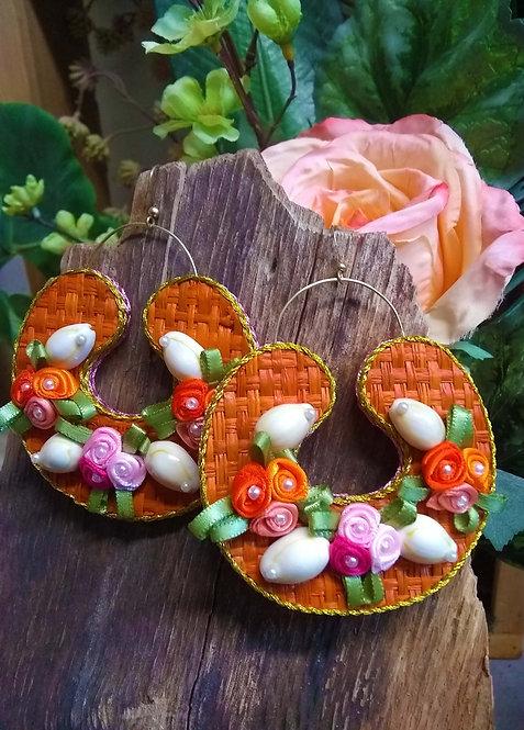 Ella Floral Hoops