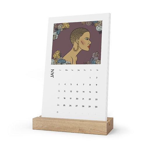 Women in Color Spring Calendar