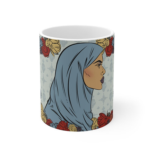 Woman With Hijab 2 Mug
