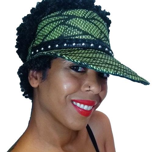 Green Tribe Half Cap Visor