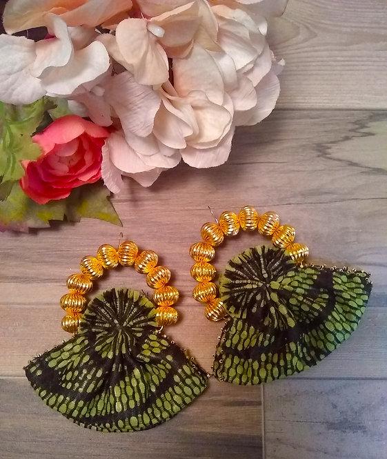AdjaTribe Fan Earrings