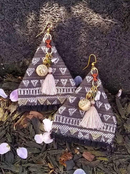 Pyramid Tribe Earrings