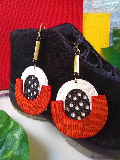 Rochelle Mesh Sport Drop Earrings