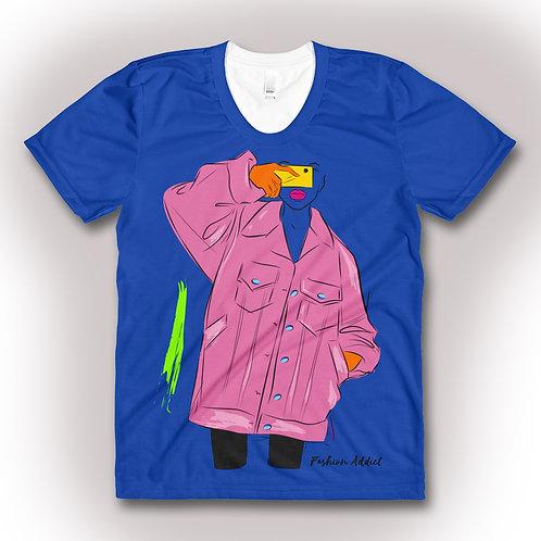 Fashion Can't Escape Me Blue Blue Orange