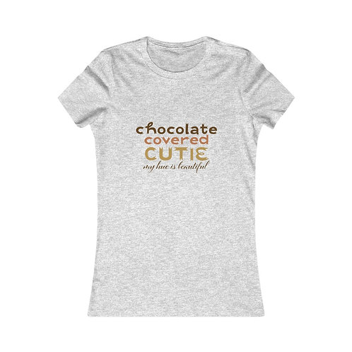 Chocolate Covered Cutie T Grey