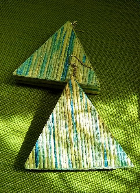 Pastel Pyramid Earrings