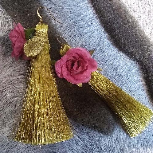 Fridah Fringe Earrings