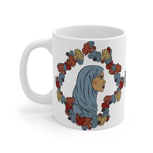 Woman With Hijab 2 Monogram