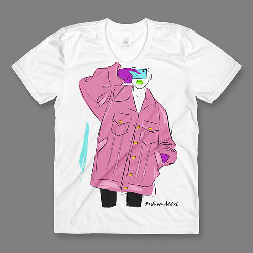 Fashion Can't Escape Me Pink Blue