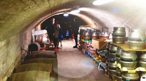 Brewery tour