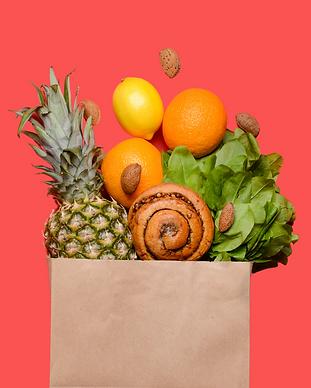 Colorful Healthy Food Quote Facebook Cov