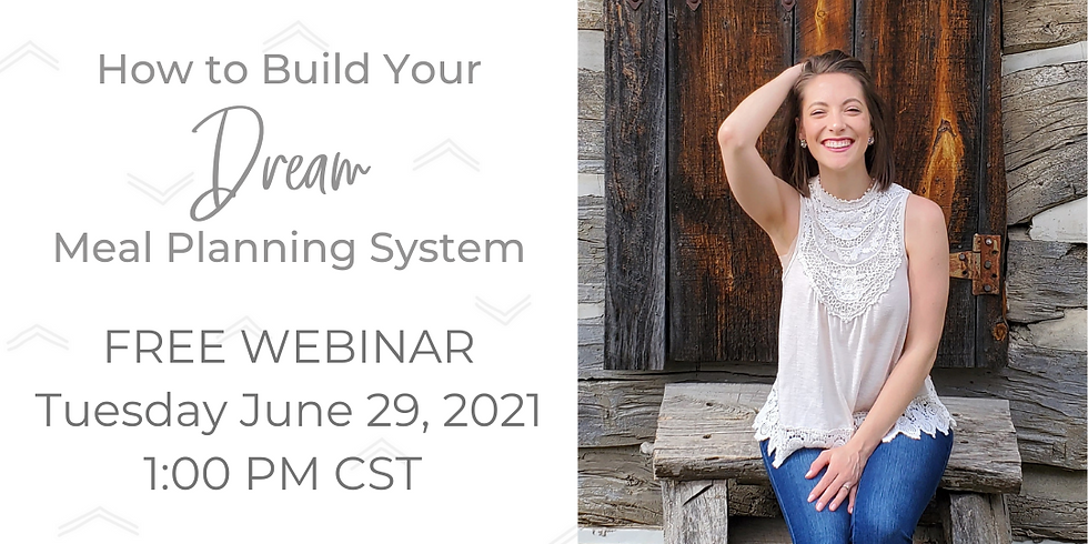 How to Build Your Dream Meal Planning System
