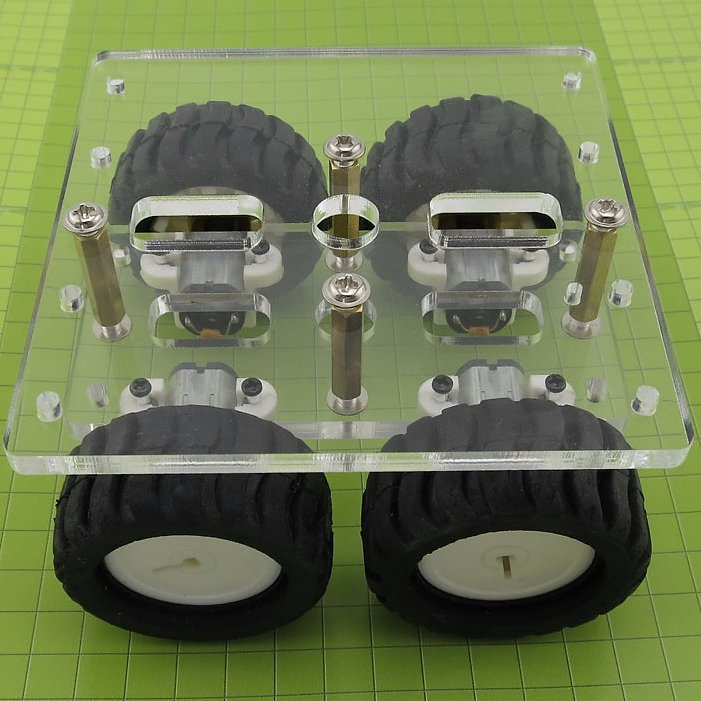 N20 Gear Motor Acrylic Chassis Kit