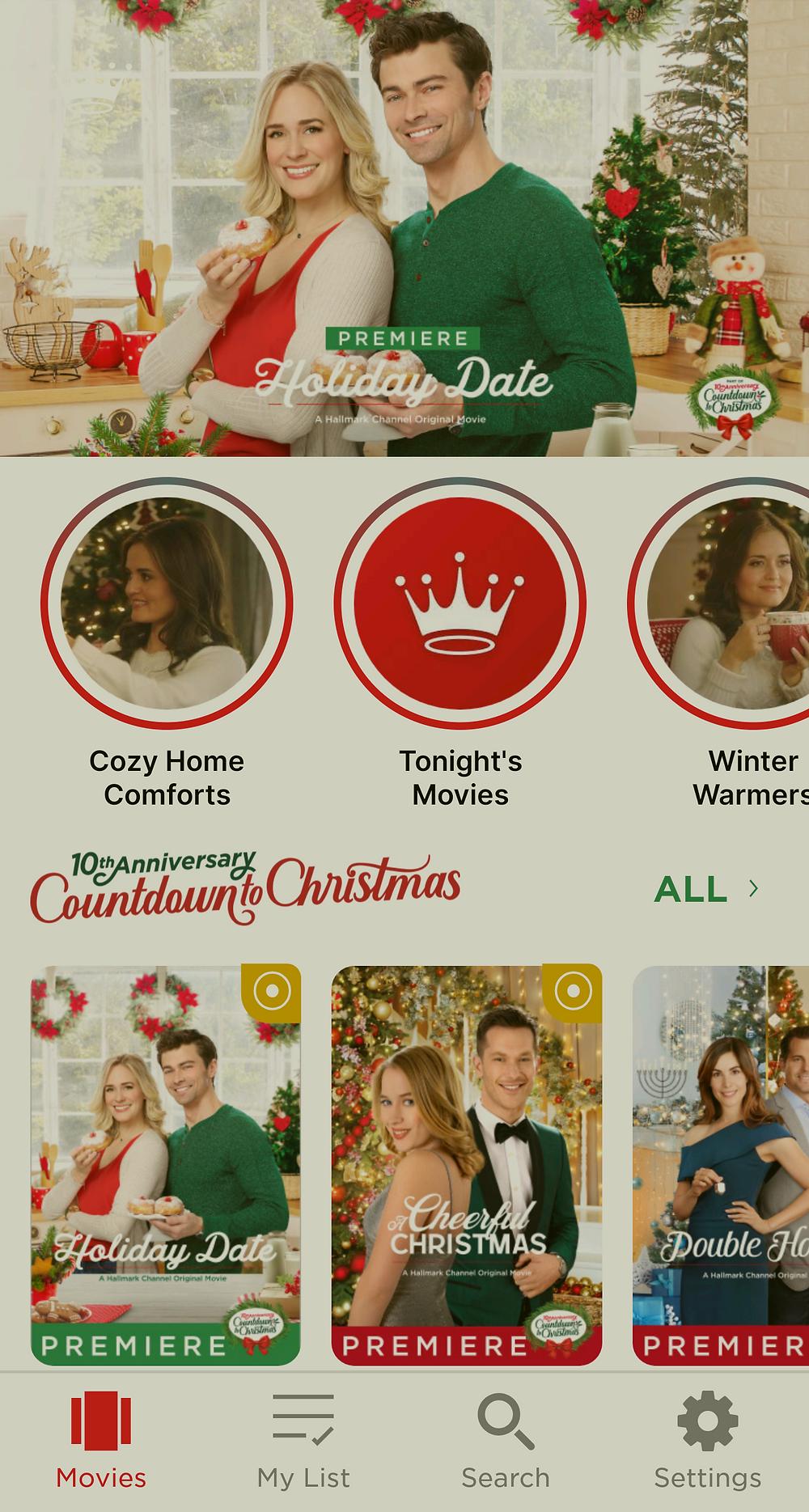 Hallmark Movie Checklist App at Mustard Seed Sentinel