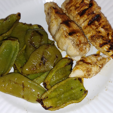 Troppello's Kitchen: Recipe for Grilled Chicken and Bell Peppers