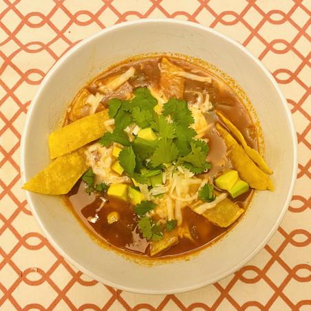 Meghan's Corner: Chicken Tortilla Soup