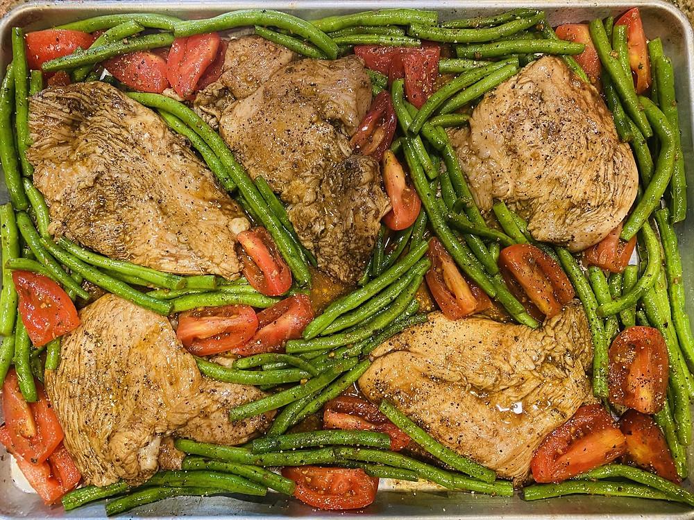 Sheet Pan Italian Chicken Dinner at Mustard Seed Sentinel