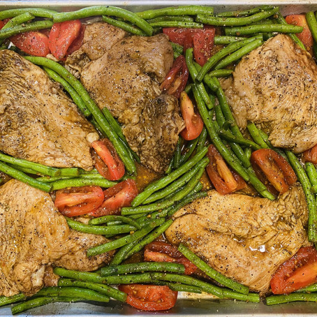 Meghan's Corner: Sheet Pan Italian Chicken