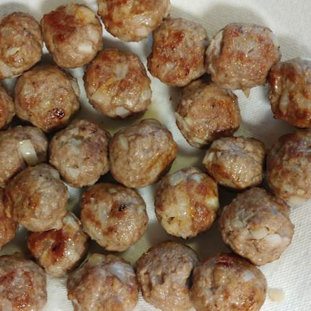 Troppello's Kitchen: My Recipe for Eggless Italian Meatballs