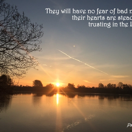 Sunday Inspiration: Fear
