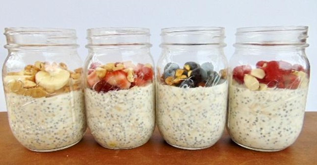 Overnight Oats at Mustard Seed Sentinel