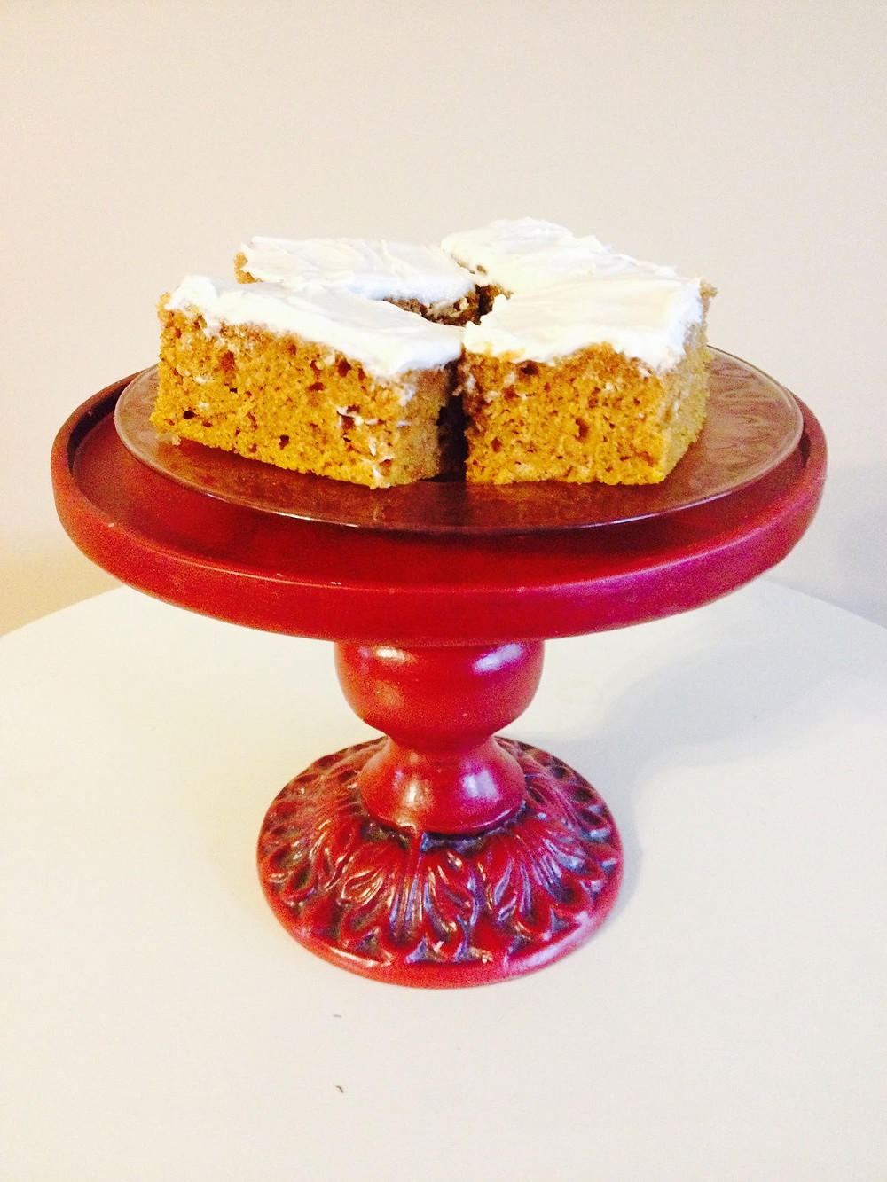 Pumpkin Bars at Mustard Seed Sentinel