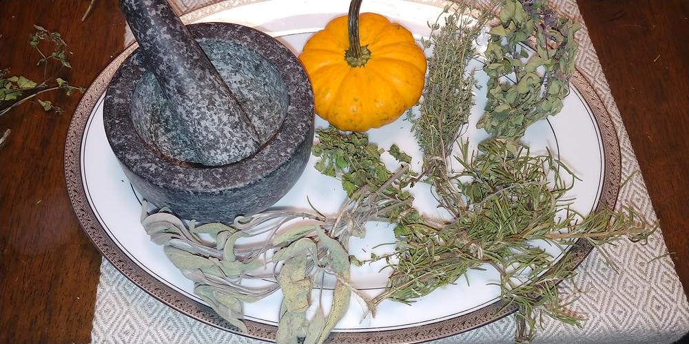 Herbs at Mustard Seed Sentinel