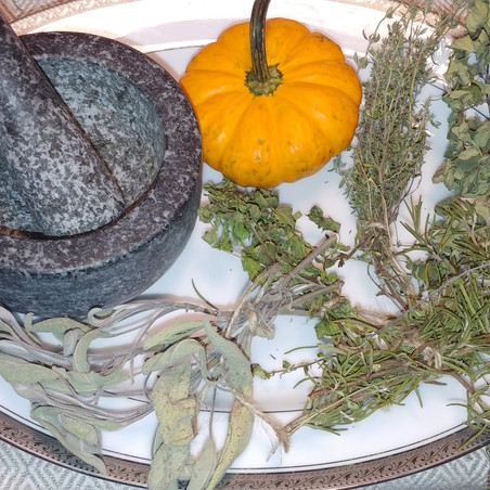 Sister's Kitchen Capers: How to Dry and Freeze Herbs