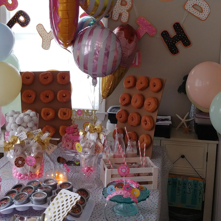 DIY Corner: A Donut Themed Birthday Party