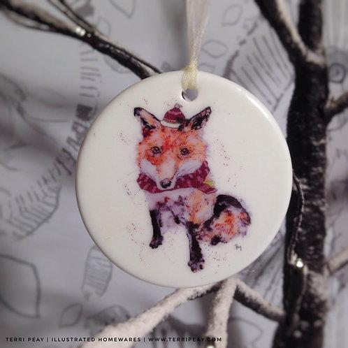 'Winter Fox' Decoration