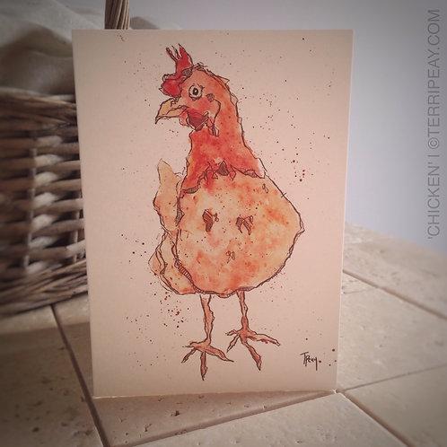 'Chicken' Card