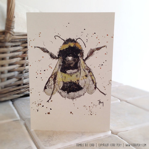 'Bumble Bee' Card