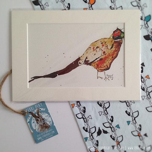 'Pheasant' Print