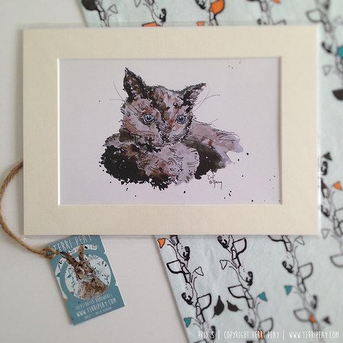 'Cat' Print