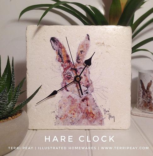 'Hare' Clock
