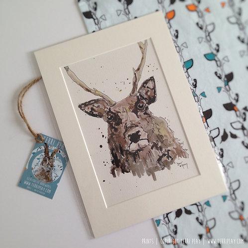 'Deer' Print