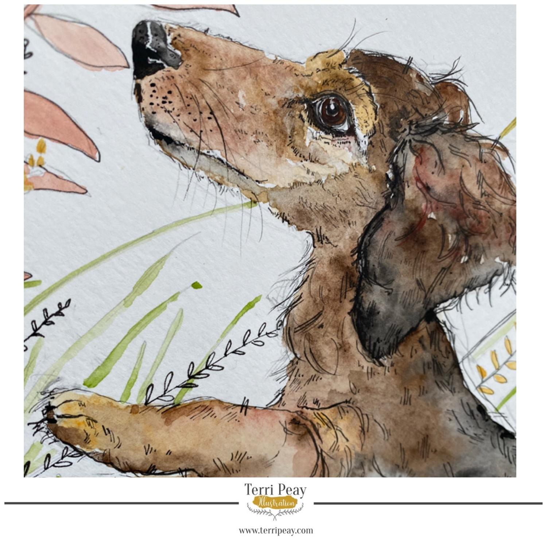 'Wilbur' By Terri Peay