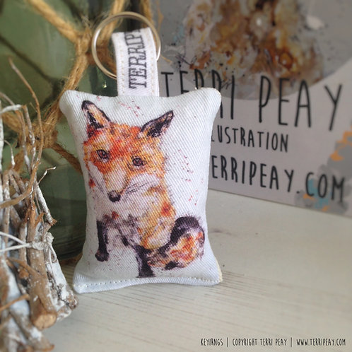 'Fox' Keyring