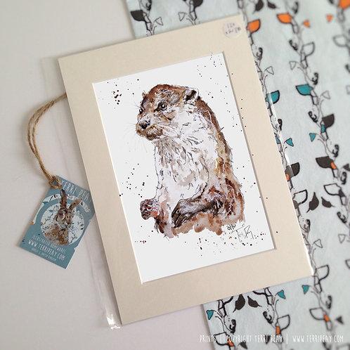 'Otter' Print