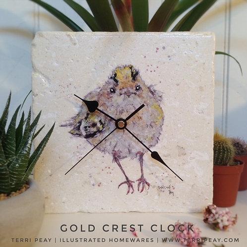 'Gold Crest' Clock
