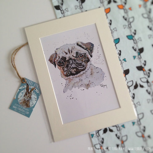'Pug' Print