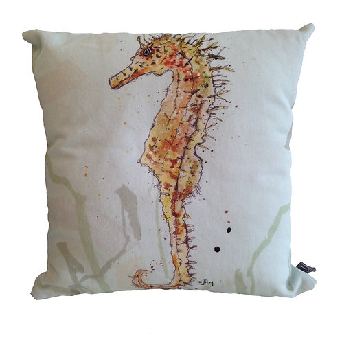 'Seahorse' Cushion